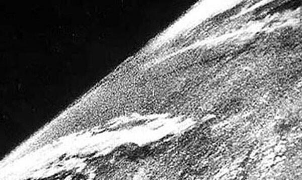 19. Первая фотография, сделанная из космоса в 1946 году
