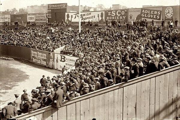 28. Бейсбол. Мировая серия 1912 года