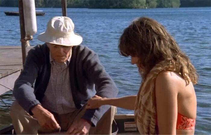 """Генри Фонда и его дочь Джейн снялись вместе в фильме """"На золотом озере"""" (1981)"""