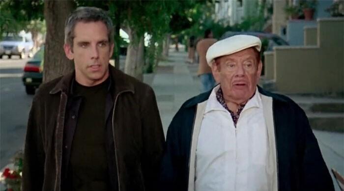 """Бен Стиллер и его отец Джерри сыграли отца и сына в """"Девушке моих кошмаров"""" (2007)"""
