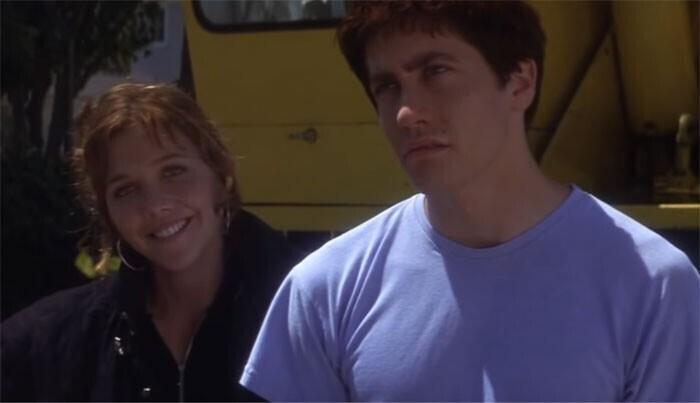 """Джейк Джилленхол и его сестра Мэгги сыграли брата и сестру в """"Донни Дарко"""" (2001)"""