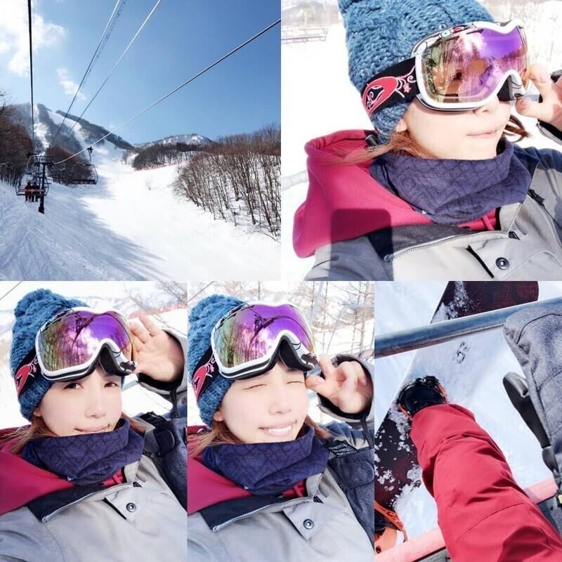 Японская сноубордистка Мэро Имаи