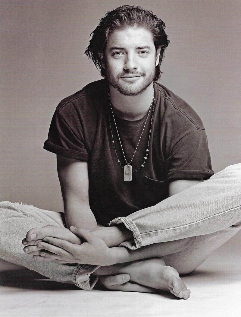 Брендан в объективе фотографа Патрика Демаршелье, 1993 год