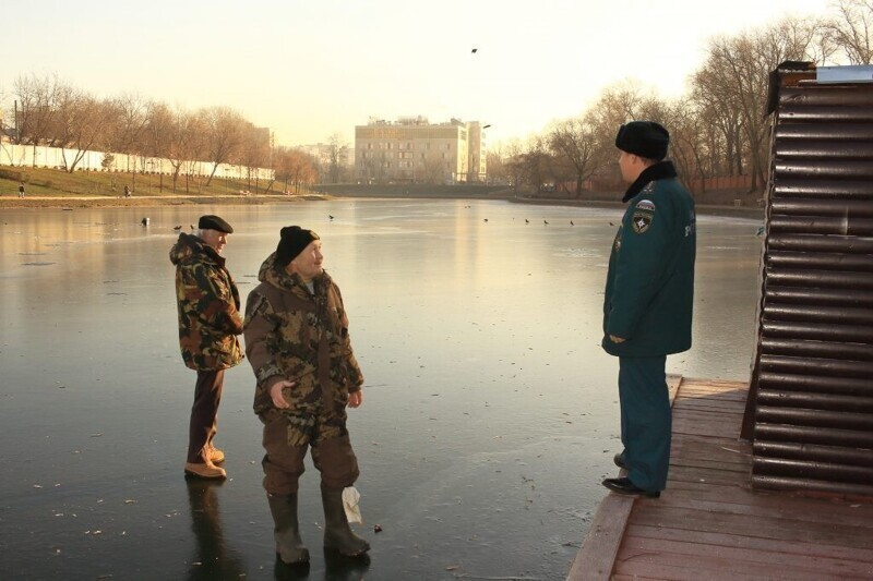Зимняя рыбалка - опасный вид досуга