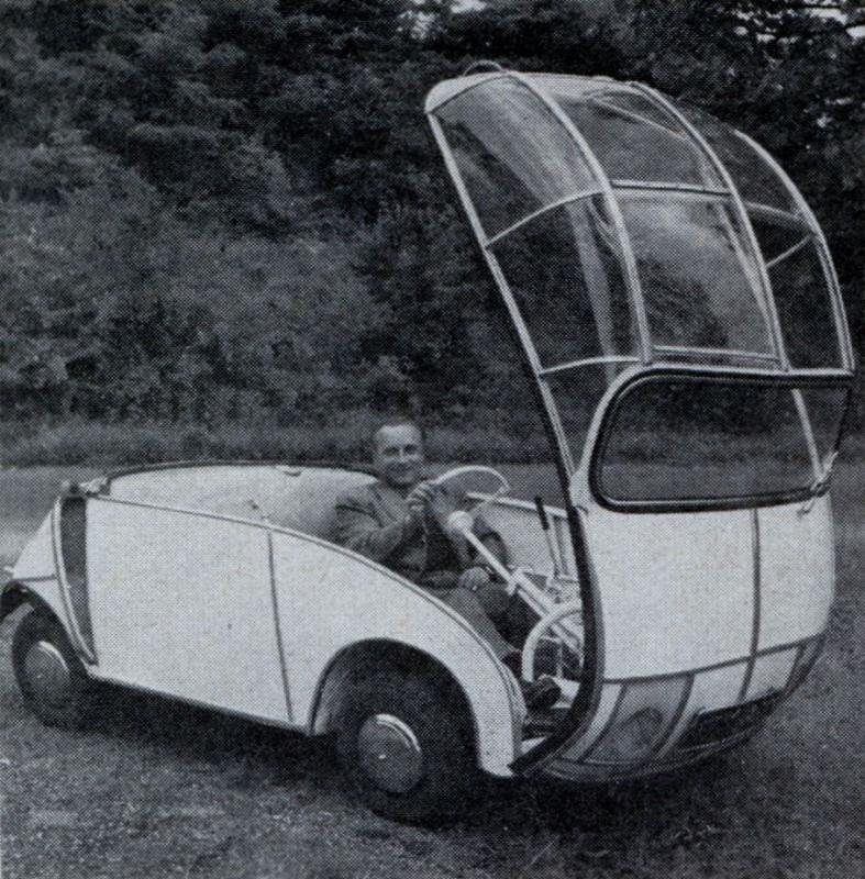 Gustav weinert flipcar, 1951