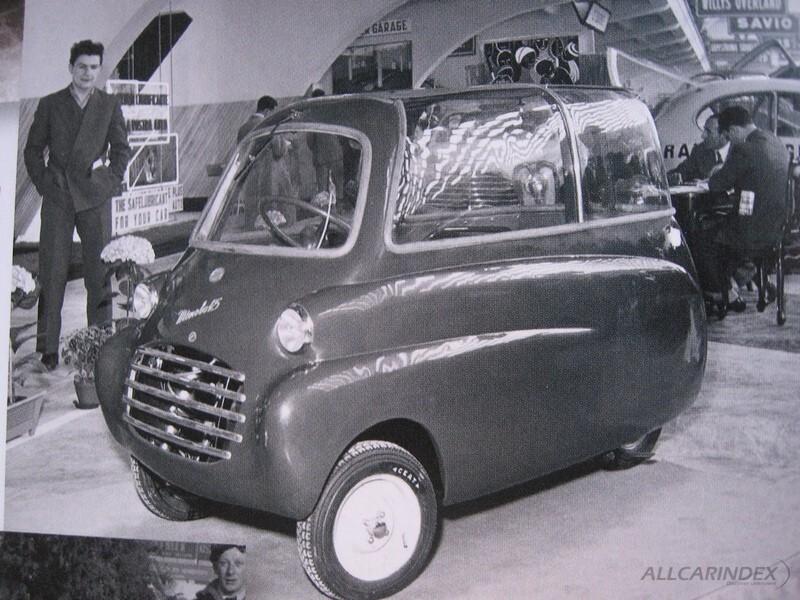 Microbo, производитель Istituto Scientifico Sperimentale Industriale S.p.A. 1952 - 1954