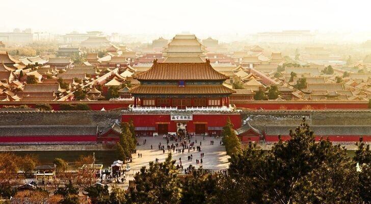 Самый большой дворец в мире находится в Китае