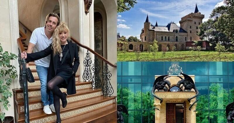 На днях рассказали про замок Пугачевой и Галкина: виртуальную прогулку можно совершить по ссылке