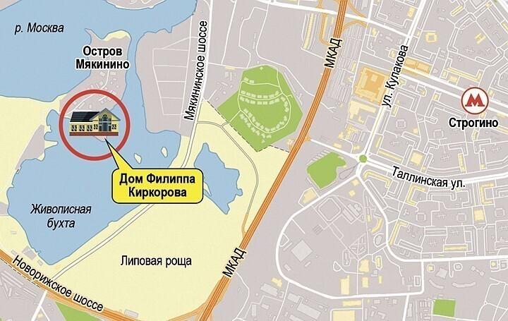 Как выглядит особняк короля российской эстрады