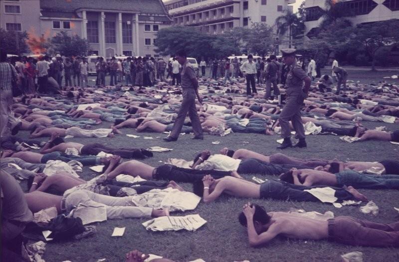 Антикоммунистические митинги, Таиланд