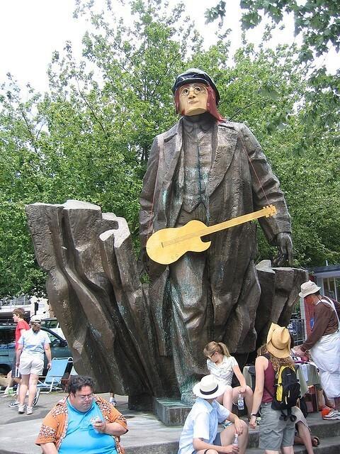 Памятник Ленину в Сиэтле