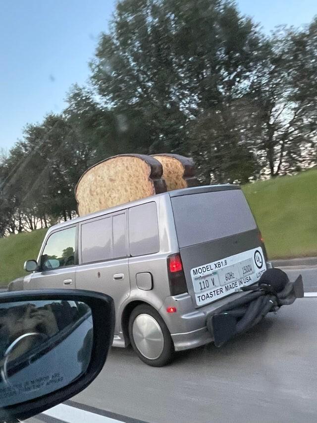 Автомобиль-тостер