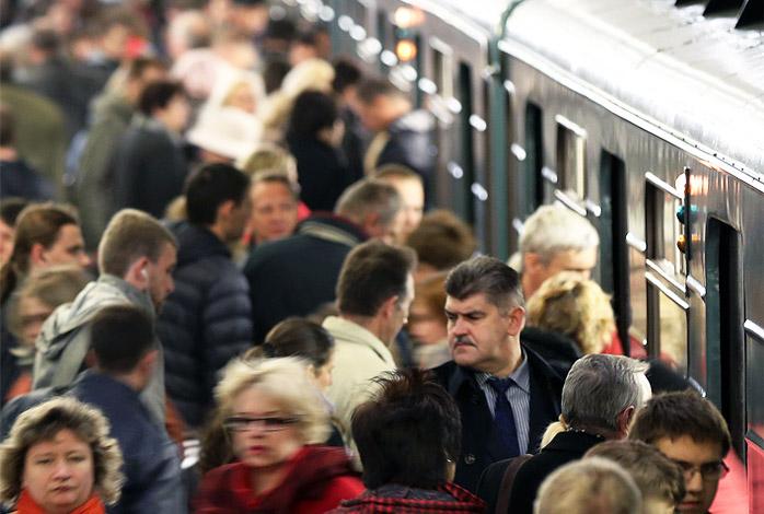 Вся правда про метро в час пик