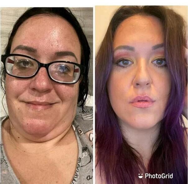 Лицо+ макияж и  фотошоп=красотка