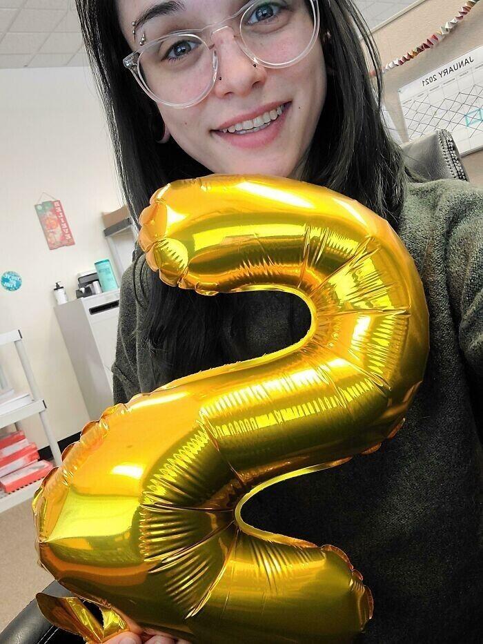 """""""Сегодня два года без наркотиков и алкоголя! Я думала, этот день никогда не настанет, и теперь у меня есть повод улыбаться!"""""""