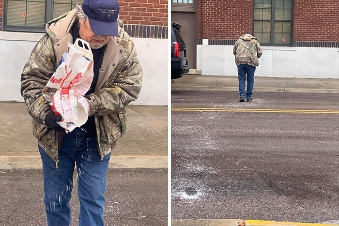 """""""Мой папа насыпал дорожку из соли от моей машины до двери офиса, чтобы я, его 38-летняя дочь, не поскользнулась"""""""