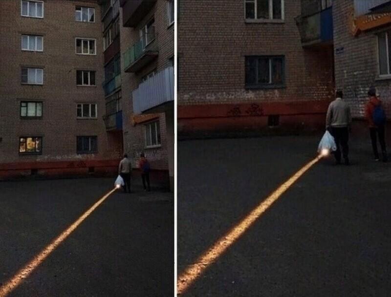 Удивительные эффекты света и тени