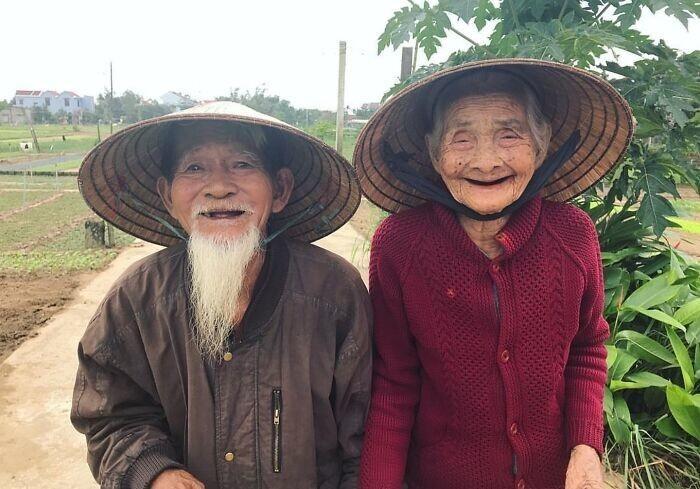 12. Супруги из Вьетнама, которые женаты уже 70 лет