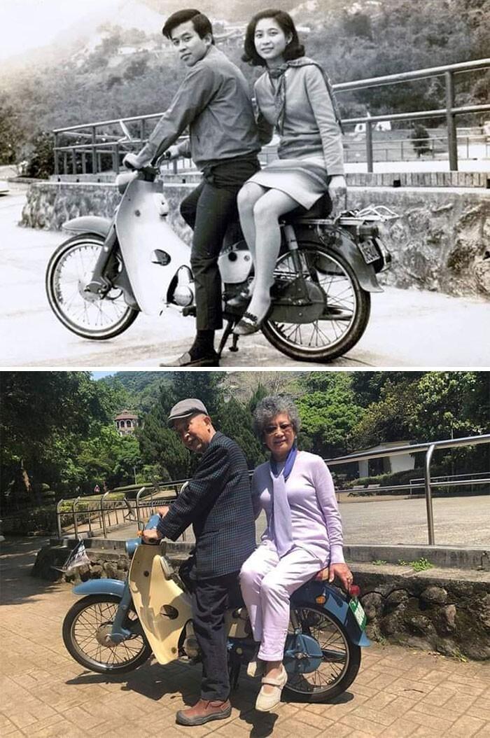 16. 1967-2018 Тот же мотоцикл, та же пара