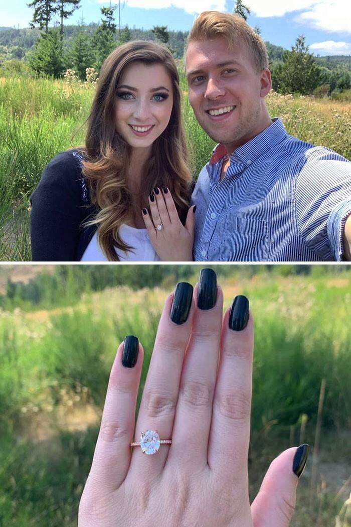 25. Эта молодая пара из Канады поженилась дважды