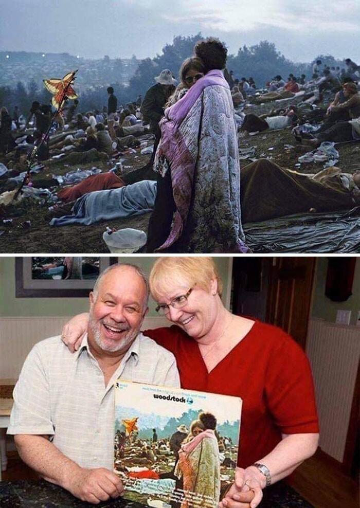 """14. Эта пара с обложки альбома """"Woodstock"""" все еще вместе 50 лет спустя"""