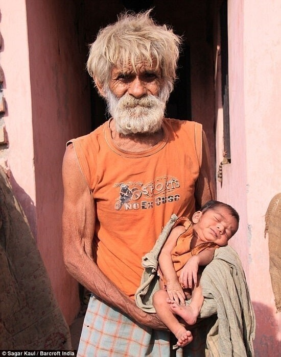 Самый пожилой отец