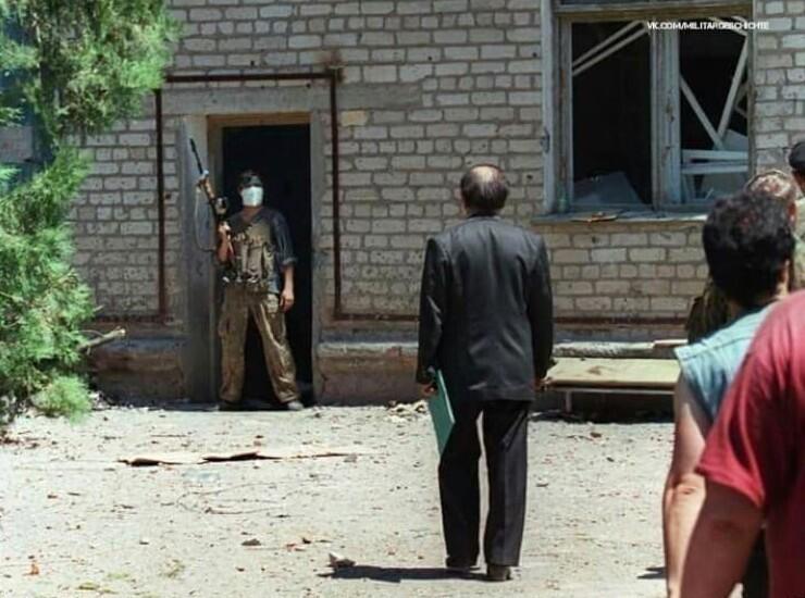 5. Переговоры с террористами в Буденновске. 1995 год