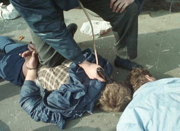 """17. Задержание """"бригадных"""", контролировавших Воскресенский авторынок. 1990 год"""