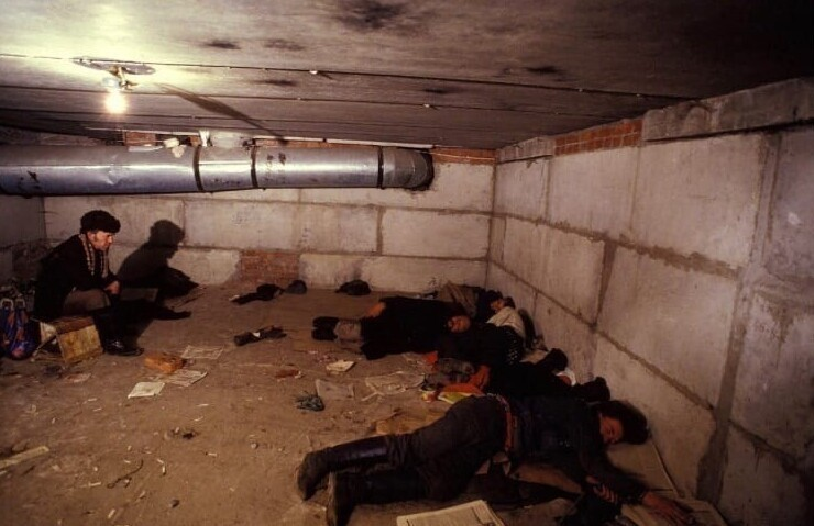 13. Пристанище бездомных. Москва, 1993 год