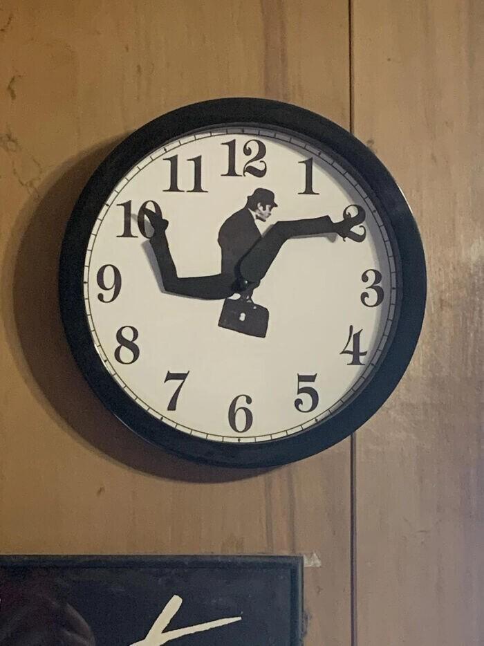 Просто смешные часы