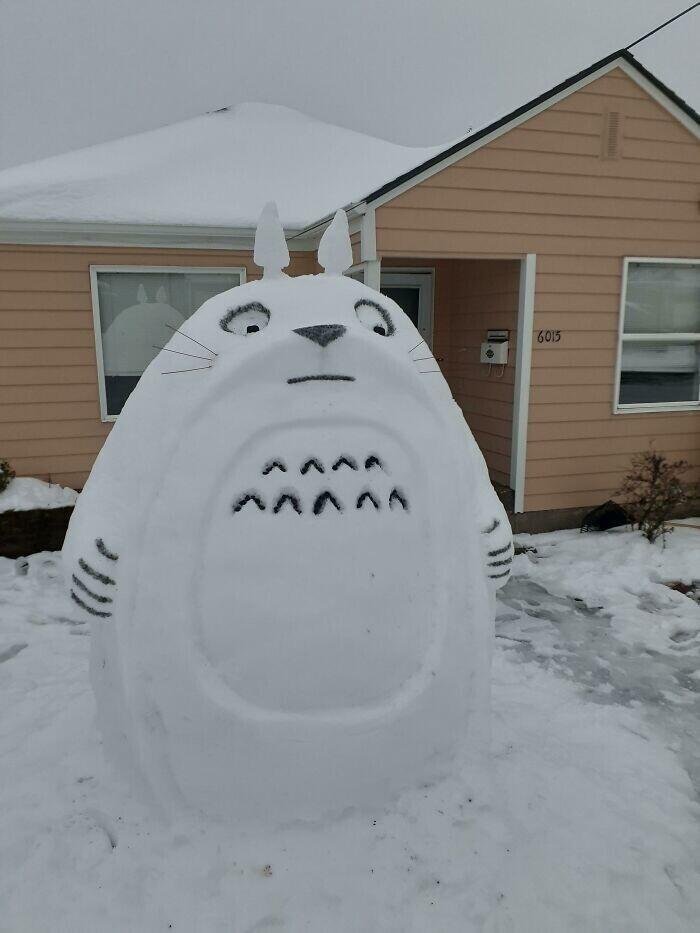 Снеговик Тоторо