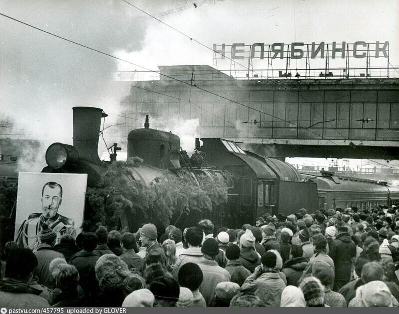 Столетие Транссиба. Юбилейный поезд