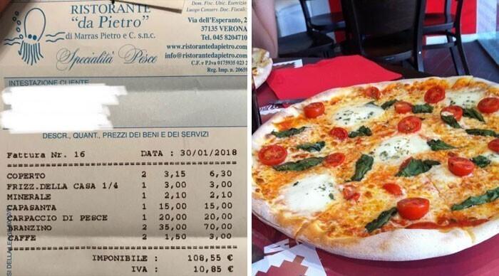14. В Италии рестораны включают в чек плату за обслуживание
