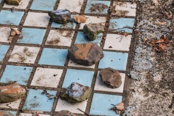 Заброшенная шахматная доска