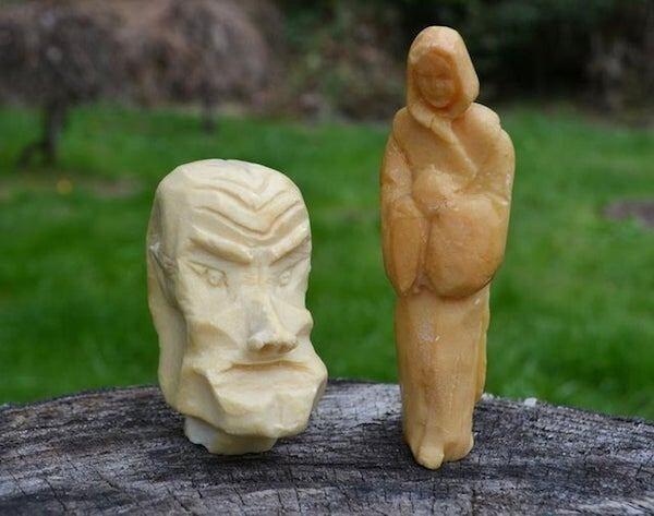 Скульптуры, выполненные из мыла