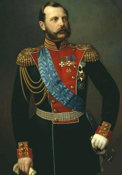 Александр II Николаевич — 185 см