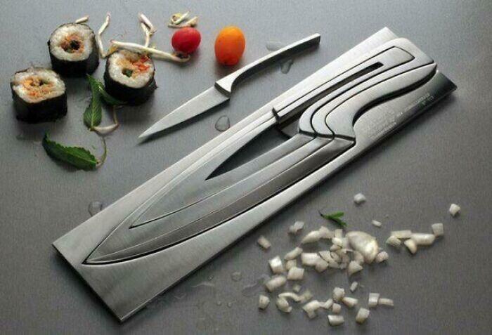 Набор ножей, который не создаст проблем с хранением