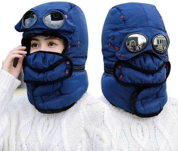 Шлем для зимних морозов - от мягких до экстремальных