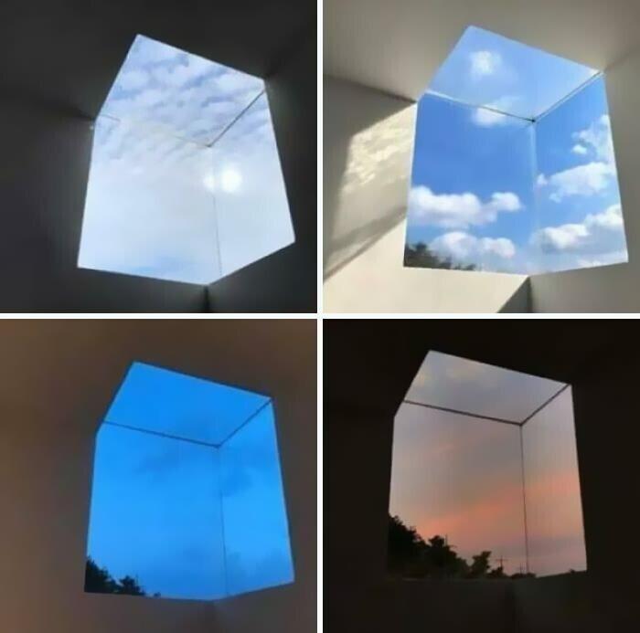 Угловое окно, расширяющее пространство