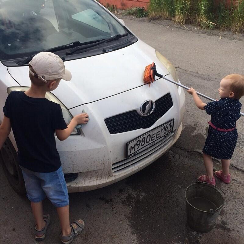 Любовь к гаражу прививается с детства