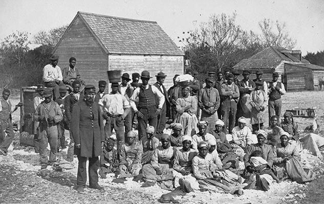 5. Все рабы трудились в сельской местности