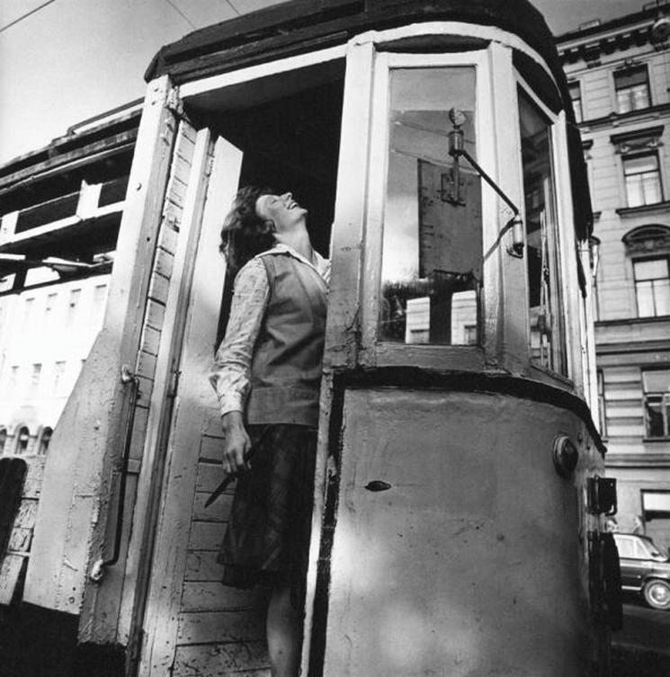 Водитель трамвая в Ленинграде, 1979 год