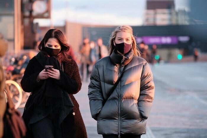 20. В Дании запрещено носить маску, полностью закрывающую лицо