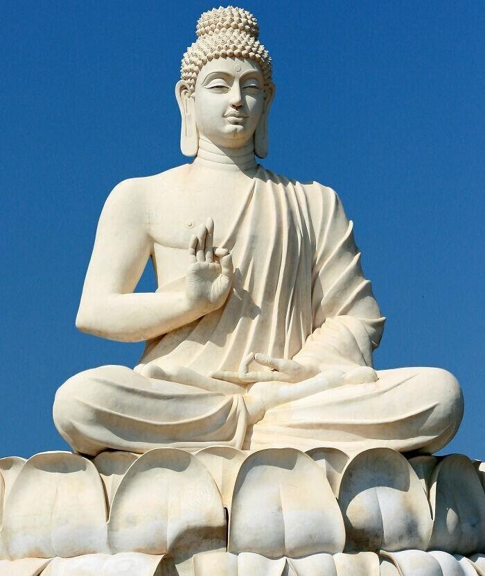 28. В Шри-Ланке запрещено делать селфи с Буддой
