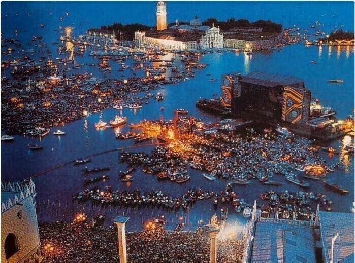 Концерт Pink Floyd в Венеции, 1989