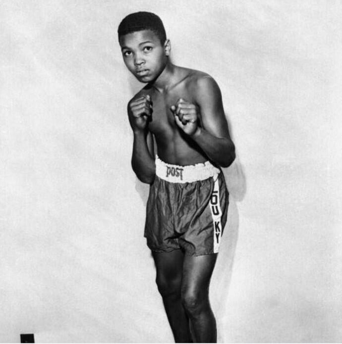 12-летний Мухаммед Али, 1954