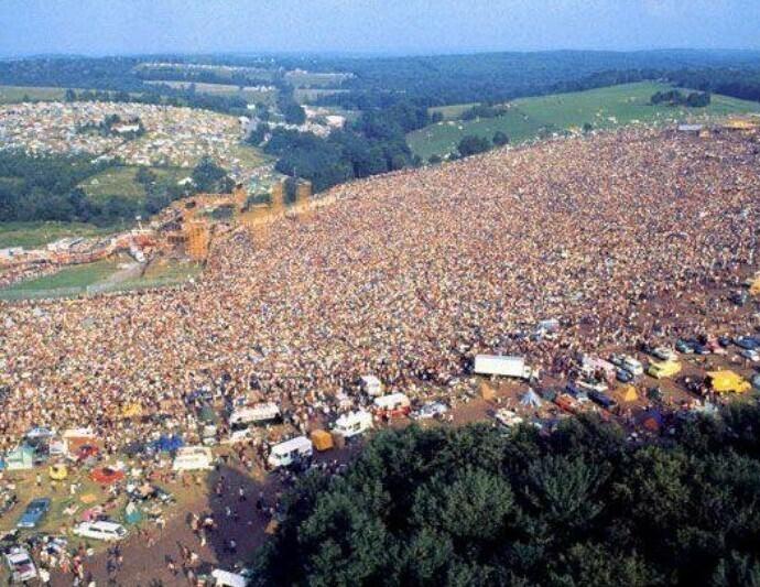 """Фестиваль """"Вудсток"""" 1969-го"""