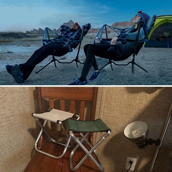 """36. """"Заказал несколько походных стульев со спинкой в Интернете"""""""
