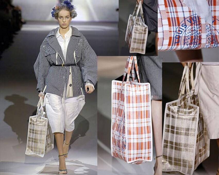 Баулы Louis Vuitton и Balenciaga