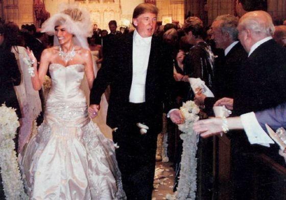 Бурное прошлое красотки Мелании до замужества за Трампом
